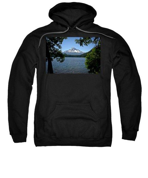 Mt Hood Over Lost Lake Sweatshirt