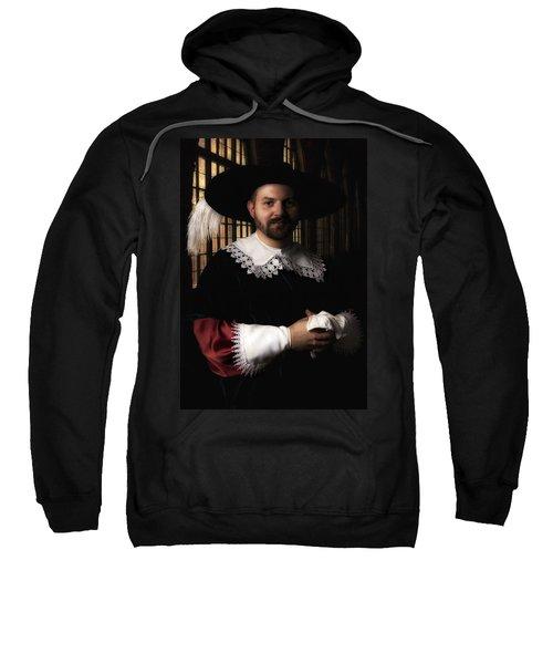 Musketeer In The Old Castle Hall Sweatshirt