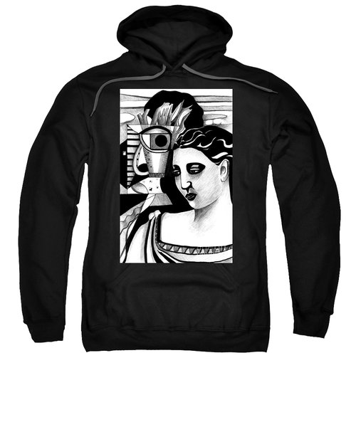 My Outing With A Young Woman By Picasso Sweatshirt