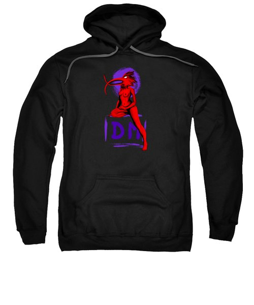 My Walking In My Shoes Girl 4 With Circle Sweatshirt
