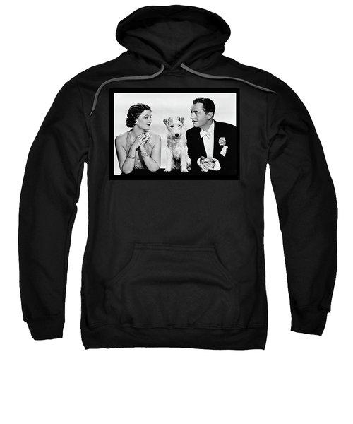 Myrna Loy Asta William Powell Publicity Photo The Thin Man 1936 Sweatshirt