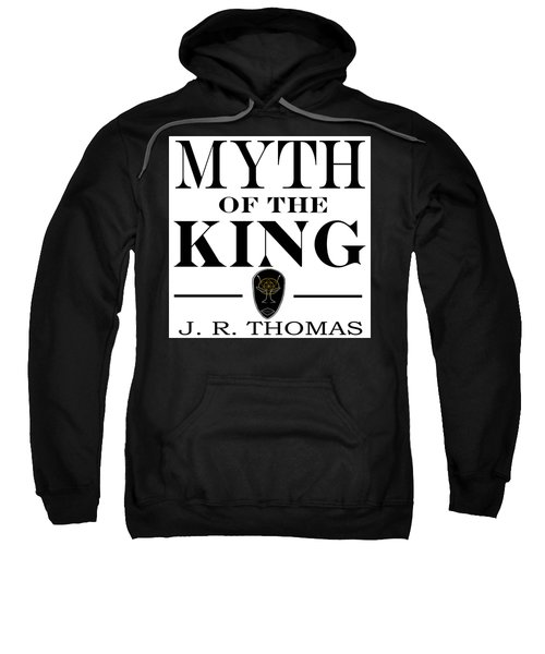 Sweatshirt featuring the digital art Myth Of The King Cover by Jayvon Thomas