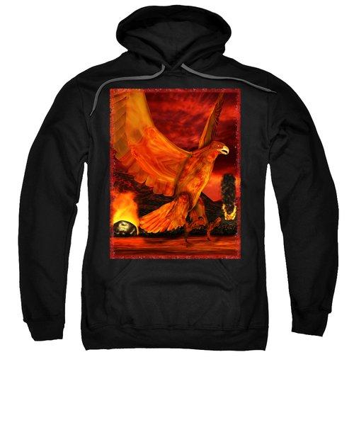 Myth Series 3 Phoenix Fire Sweatshirt by Sharon and Renee Lozen