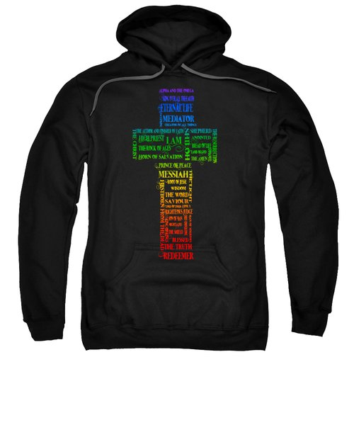 Names Of Jesus Cross Sweatshirt