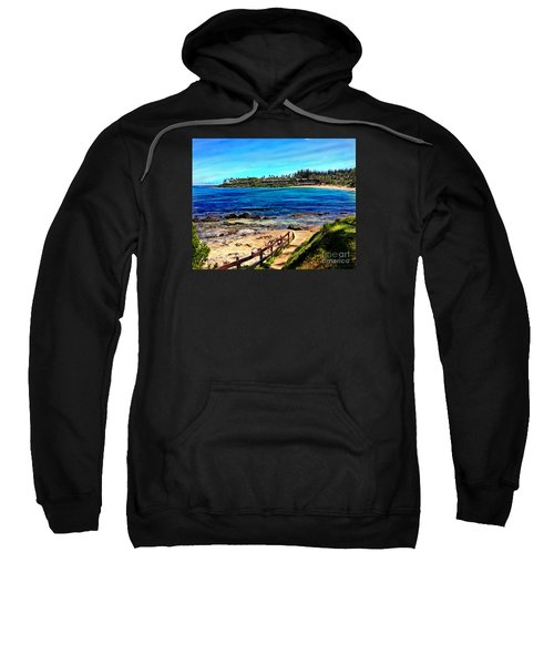 Napili Beach Gazebo Walkway Sweatshirt