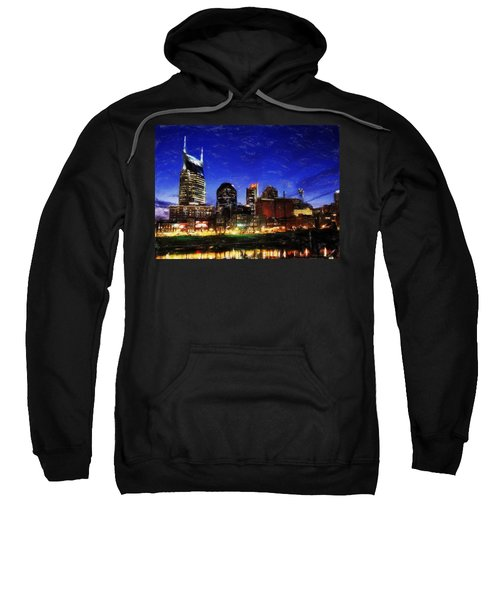 Nashville At Twilight Sweatshirt