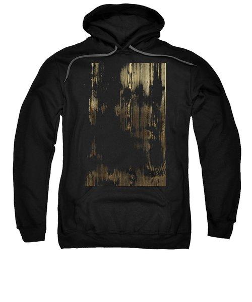 Nature's Secret Code - The Wood Grain Message #3 Sweatshirt