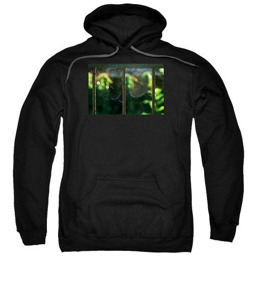 Sweatshirt featuring the photograph near Giverny by Dubi Roman