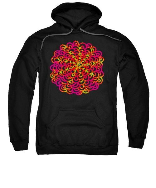 Neon Fractals Sweatshirt