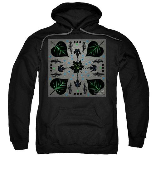 Neon Leaves Sweatshirt