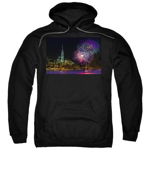 New York City Summer Fireworks Sweatshirt