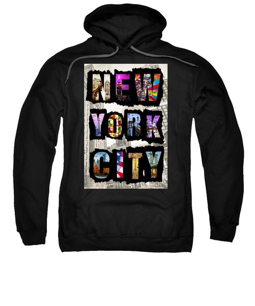 New York City Text Sweatshirt