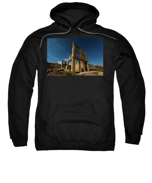 Night Sky Over Rhyolite Sweatshirt