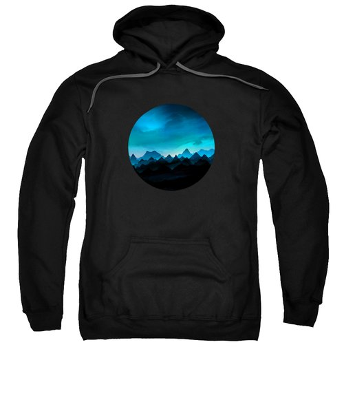 Night Storm In The Mountains Sweatshirt