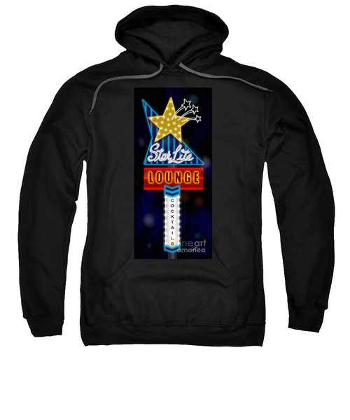 Nightclub Sign Starlite Lounge Sweatshirt