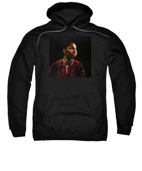 Nina Simone Painting Sweatshirt