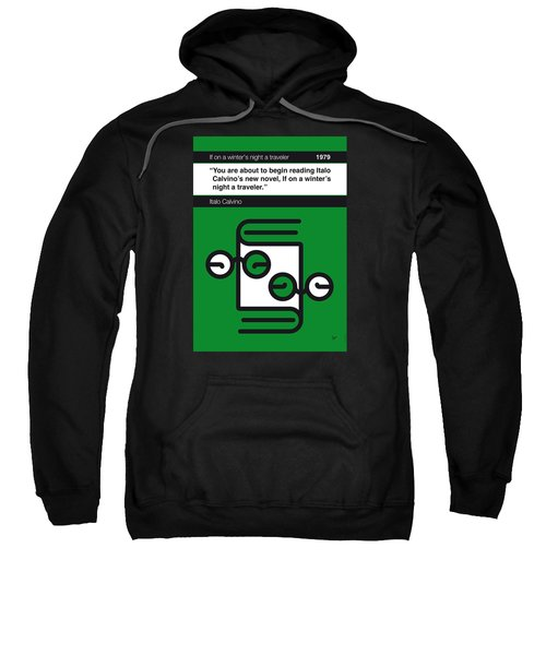 No014-my-if On A Winter's Night A Traveler-book-icon-poster Sweatshirt