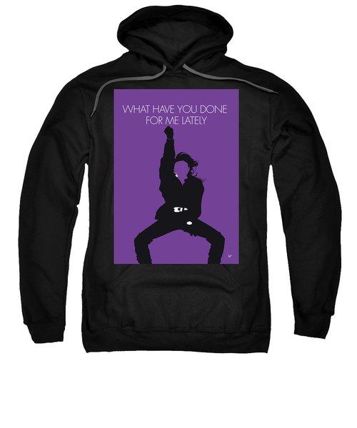 No091 My Janet Jackson Minimal Music Poster Sweatshirt