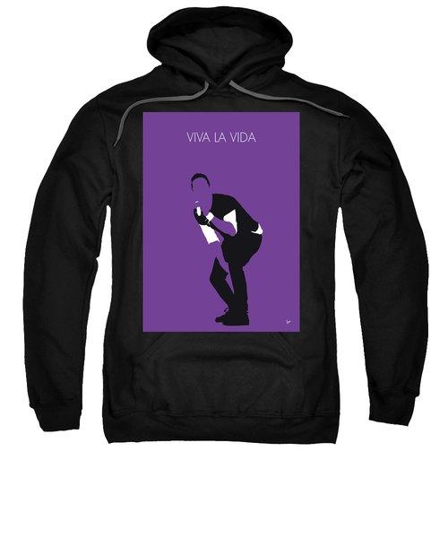 No121 My Coldplay Minimal Music Poster Sweatshirt