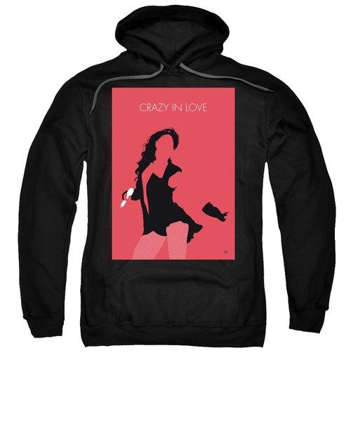 No122 My Beyonce Minimal Music Poster Sweatshirt