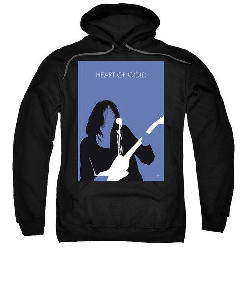 No128 My Neil Young Minimal Music Poster Sweatshirt