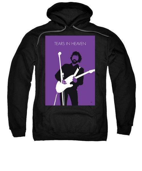 No141 My Eric Clapton Minimal Music Poster Sweatshirt
