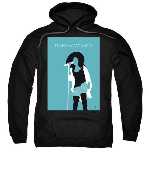 No155 My Chaka Khan Minimal Music Poster Sweatshirt