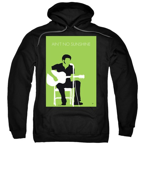 No156 My Bill Withers Minimal Music Poster Sweatshirt
