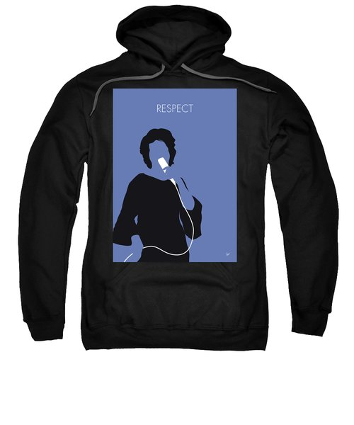 No188 My Aretha Franklin Minimal Music Poster Sweatshirt