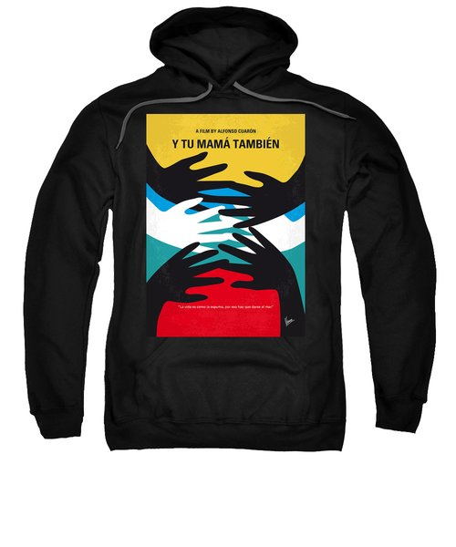 No468 My Y Tu Mama Tambien Minimal Movie Poster Sweatshirt