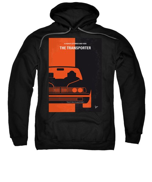 No552 My The Transporter Minimal Movie Poster Sweatshirt