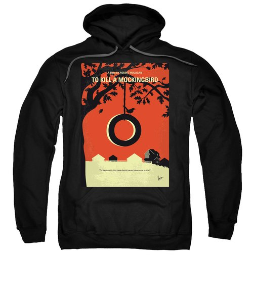No844 My To Kill A Mockingbird Minimal Movie Poster Sweatshirt
