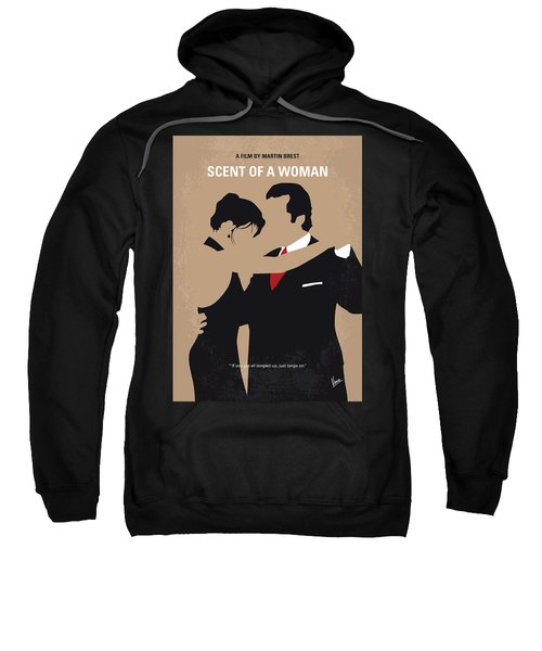 No888 My Scent Of A Woman Minimal Movie Poster Sweatshirt