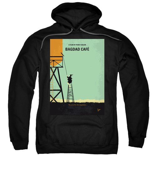 No964 My Bagdad Cafe Minimal Movie Poster Sweatshirt