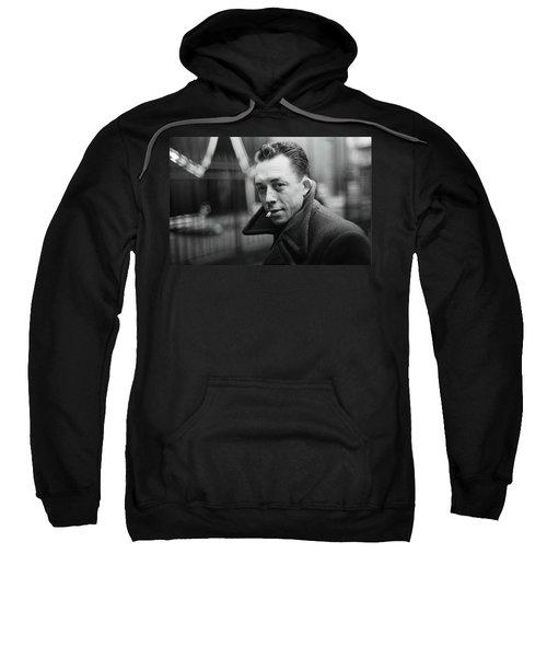 Nobel Prize Winning Writer Albert Camus Paris 1944 - 2015           Sweatshirt