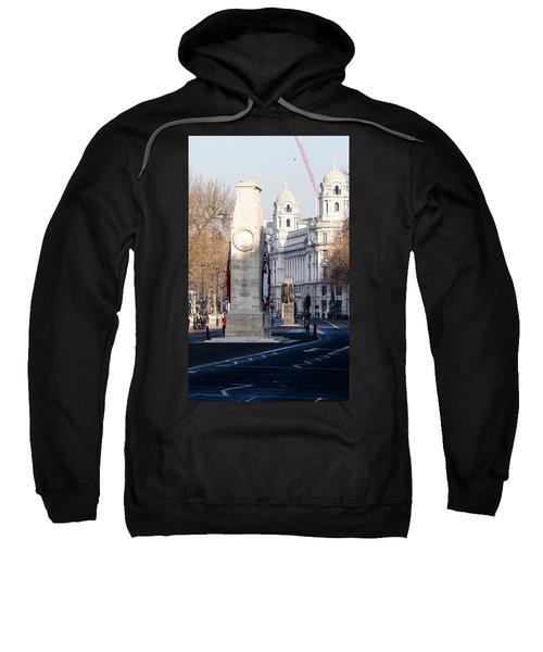 North Facade Of Cenotaph War Memorial Whitehall London Sweatshirt