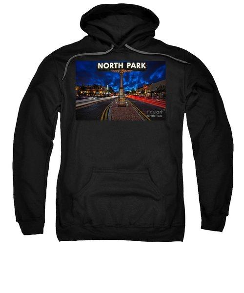 North Park Neon Sign San Diego California Sweatshirt