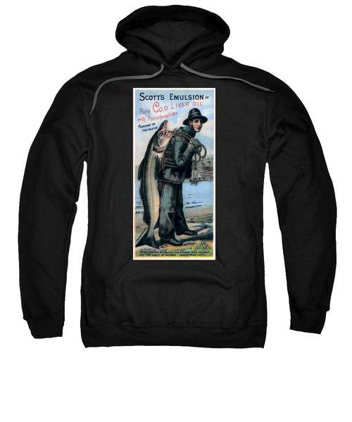 Norway Cod Fishing  1884 Sweatshirt