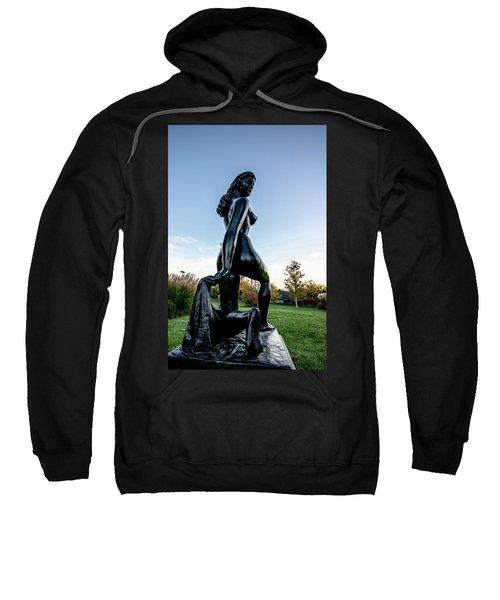 Nude Statue Sweatshirt