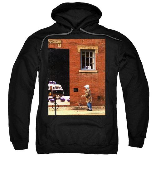 Observing Building Art Sweatshirt