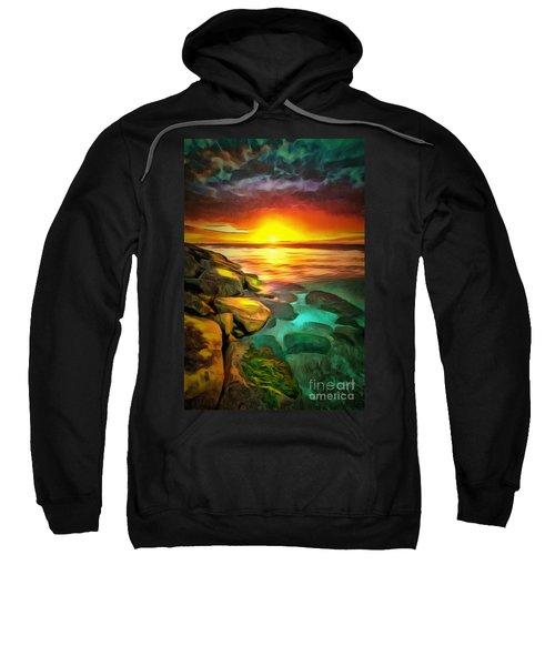 Ocean Lit In Ambiance Sweatshirt