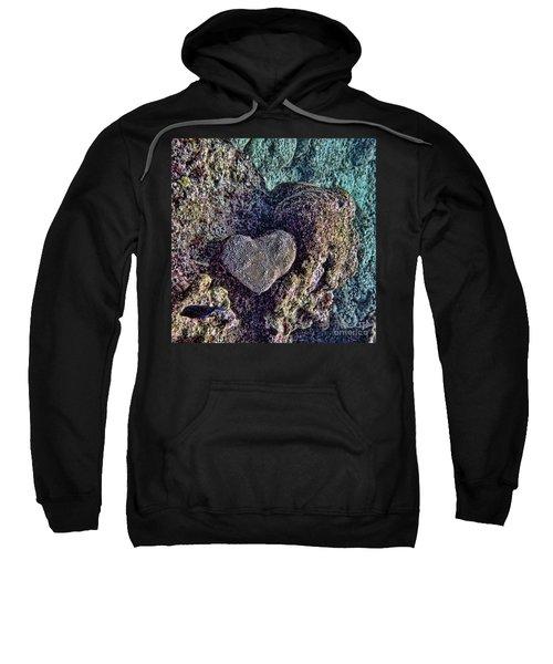 Ocean Love Sweatshirt by Peggy Hughes
