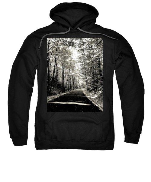 October Grayscale  Sweatshirt