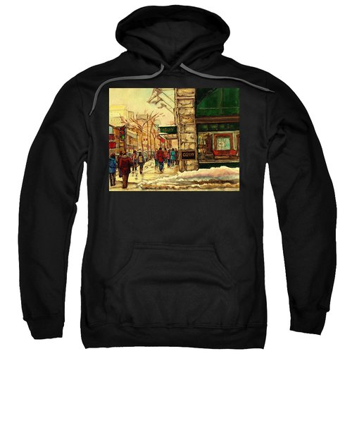 Ogilvys Department Store Downtown Montreal Sweatshirt