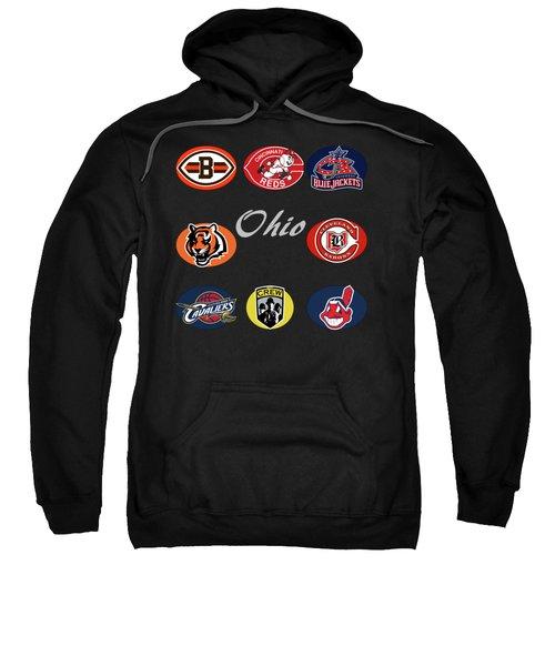 Ohio Professional Sport Teams Collage Sweatshirt