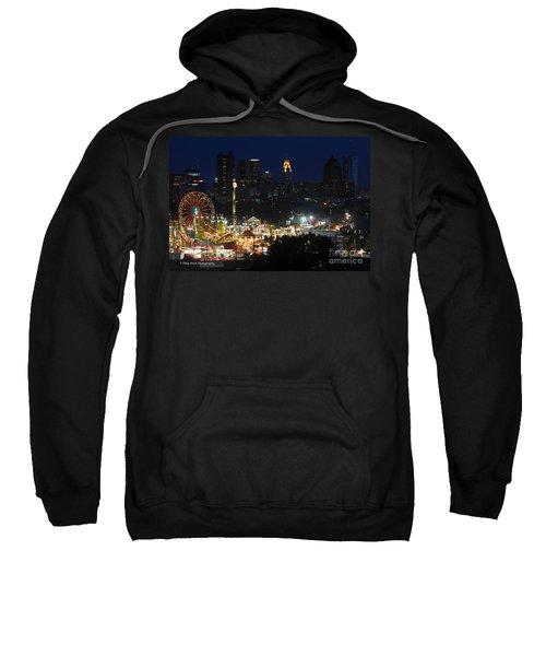 D3l-464 Ohio State Fair With Columbus Skyline Sweatshirt