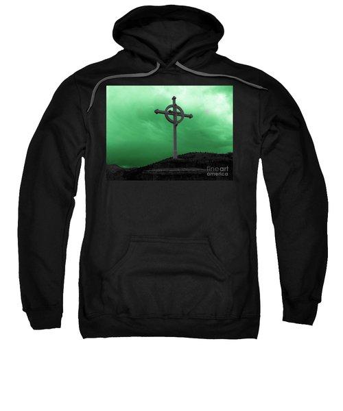 Old Cross - Green Sky Sweatshirt