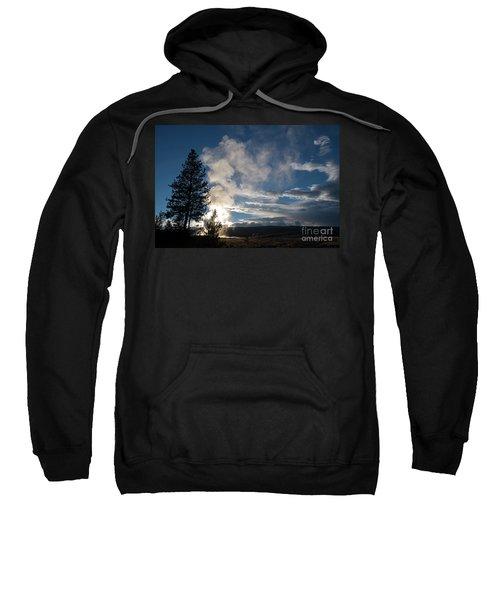 Old Faithfull At Sunset Sweatshirt