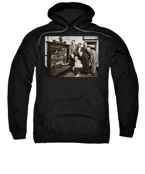 Old Grate That First Burned Anthracite Coal Successfully In The Old Fell House Wilkes Barre Pa Sweatshirt