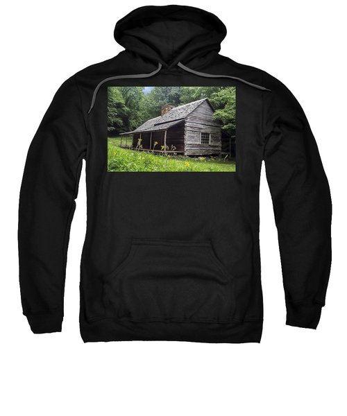 Old Settlers Cabin Smoky Mountains National Park Sweatshirt